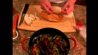 Cooking With Johni - Italian Sausage And Pepper Sandwich