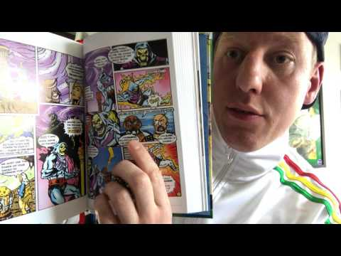 My He Man and the Masters of the Universe Minicomic collection book