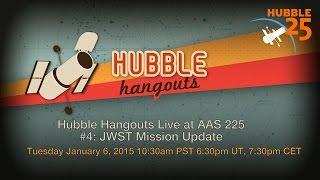 JWST Live at AA2 224: JWST Mission Update