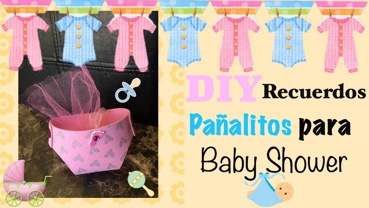 776b604e2 DIY Recuerdos de Pañalitos Para Baby Shower   DIY Baby Shower Party Favors