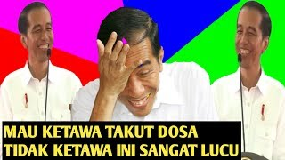 Funny Moments of President Jokowi Laughing in Pingkal