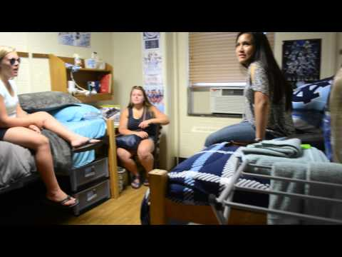 UNC Chapel Hill Craige Model Dorm Tour