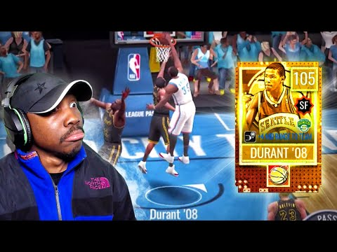 105 OVR KEVIN DURANT POSTER DUNKING! NBA Live Mobile 20 Season 4 Pack Opening Gameplay Ep. 49