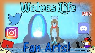 ROBLOX - Wolves' Life v2 Beta - Fan Arts! #33 - HD