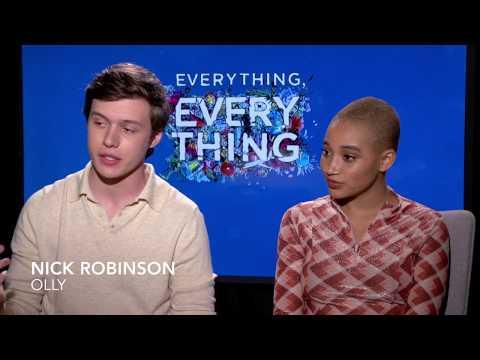 Amandla Stenberg And Nick Robinson Discuss Making Everything, Everything