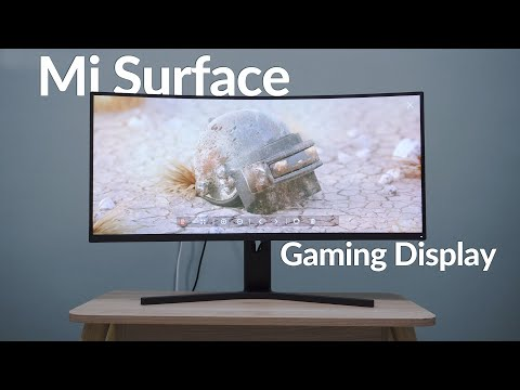 Xiaomi Mi Surface 34-inch Gaming Display review: The true 2k 144Hz monitor