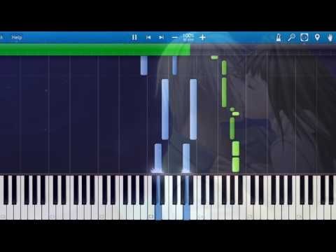 [Synthesia] Fujita Maiko - Hotaru (Piano) [Hiiro no Kakera Aizouban: Akane Iro no Tsuioku OP]
