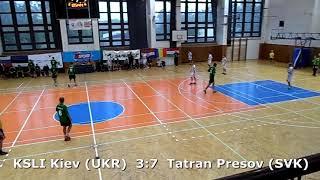 Handball. U17 boys. Sarius cup 2017. Tatran Presov (SVK) - KSLI Kiev (UKR) - 9:7 (1st half)