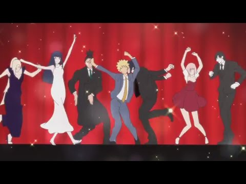 Kekkai Sensen Ending / Outro Dance 【NARUTO Version】