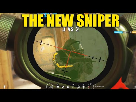 THE NEW SNIPER IS GOOD! - Rainbow Six Siege