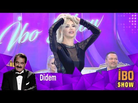 """Didem'in muhteşem dans gösterisine Bülent Serttaş """"Mavi Mavi""""'yi söyleyerek eşli"""