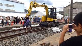 きんてつ鉄道まつり2019 高安会場の様子