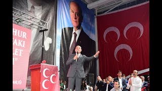 MHP Lideri Bahçeli'ye Adana'dan Tam Destek