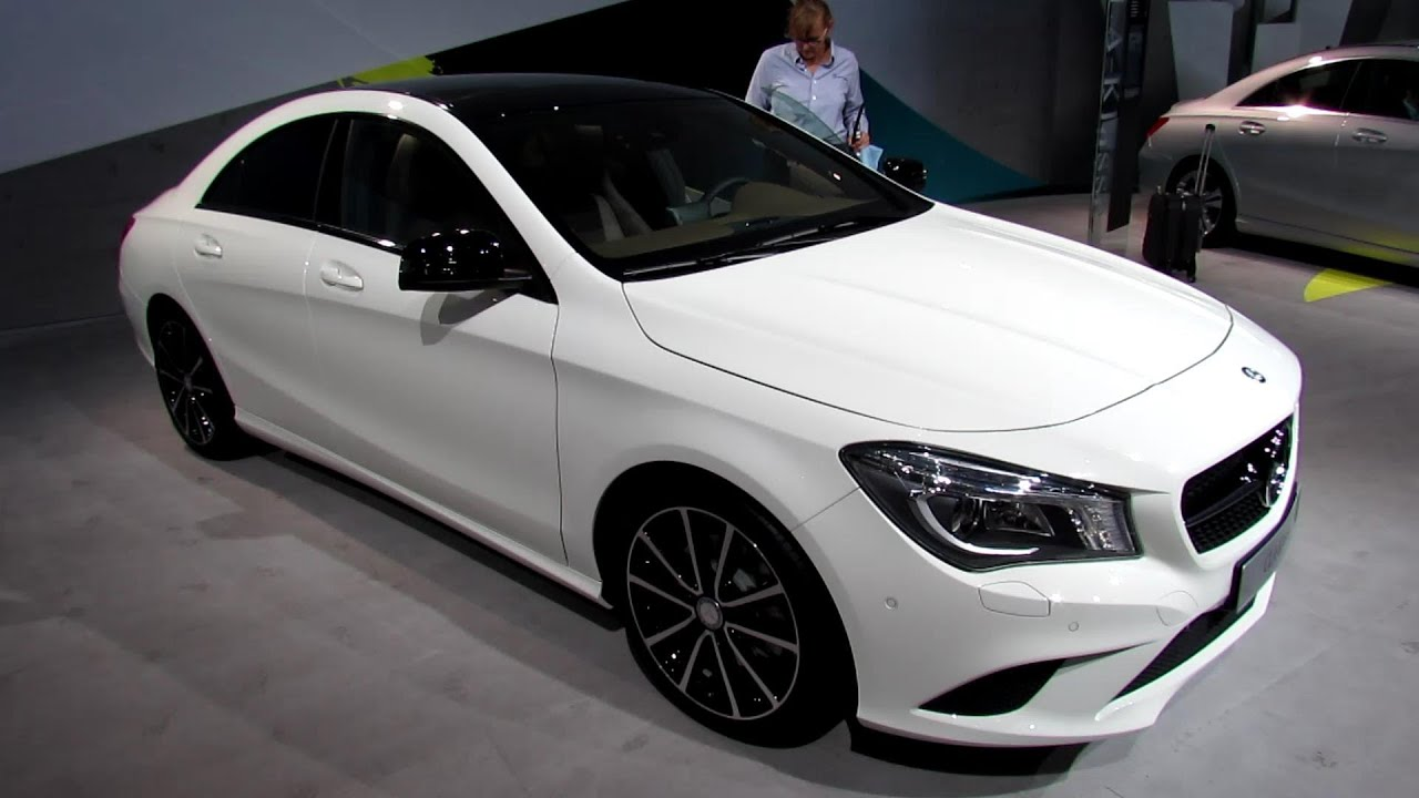 Great 2014 Mercedes Benz CLA Class CLA250   Exterior, Interior Walkaround   2013  Frankfurt Motor Show   YouTube