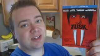 Tusk Blu-Ray Unboxing & Movie Review - Kevin Smith's Crazy Ass Horror Movie