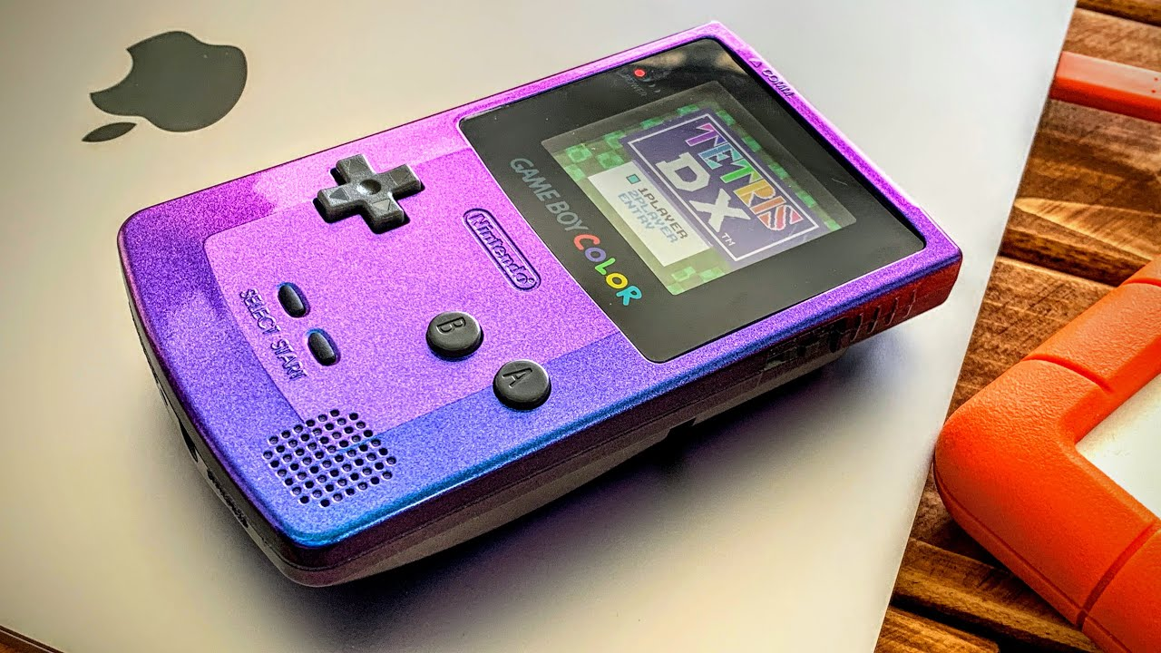 The Most BEAUTIFUL GameBoy Mod