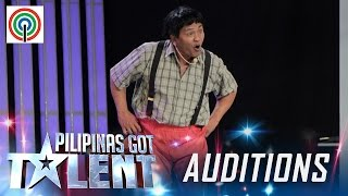 Pilipinas Got Talent Season 5 Auditions: Daniel Bautista - Yoyoy Villame Impersonator
