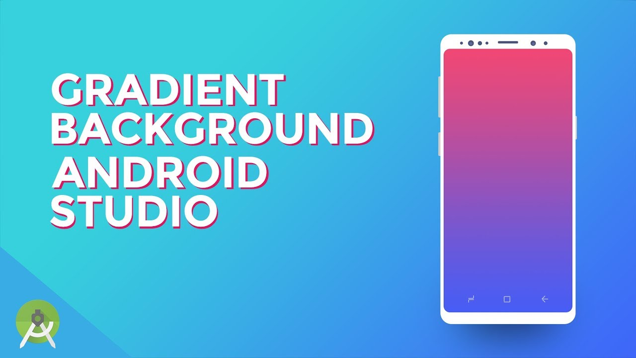 How to Create Gradient Background in Android Studio with XML