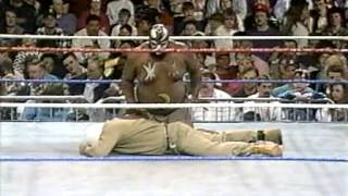 Kamala vs. Kim Chee WWF March to WrestleMania IX 1993