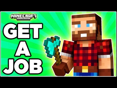 Jobs in Minecraft Pocket Edition