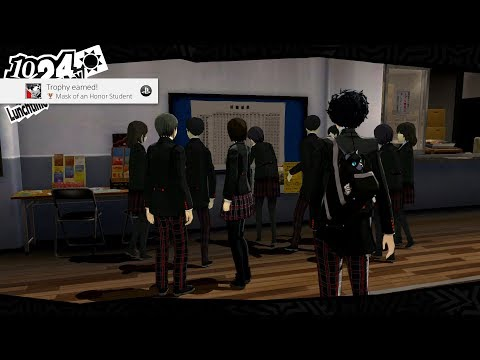 Persona 5 - Top of the Class Achievement! HQ