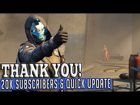 THANK YOU! - 20k Subscribers & A few other things!