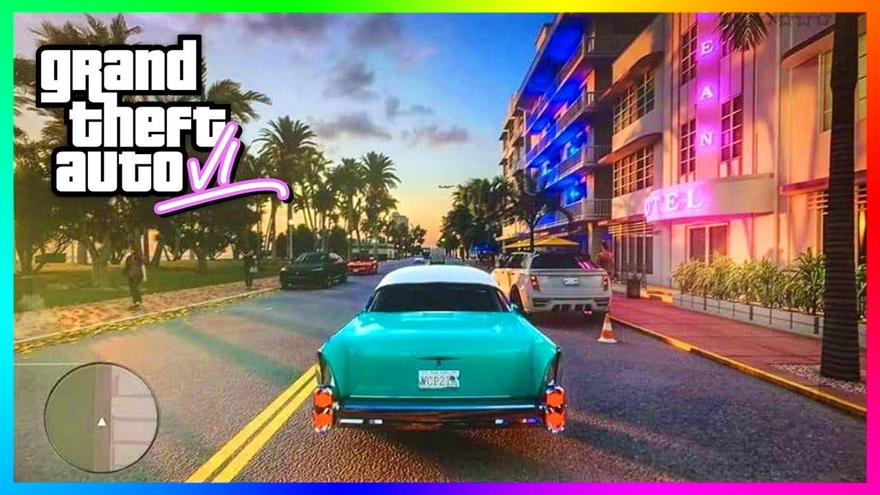 Gta 6 Grand Theft Auto Vi The Biggest Leak We Ve Seen