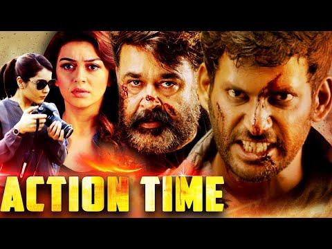 Action Time (2019) Full Hindi Dubbed Movie   Vishal, Mohanlal, Hansika Motwani