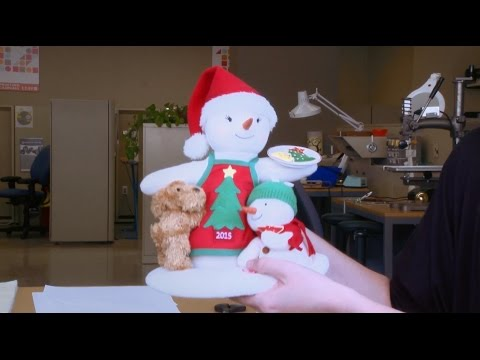 Brooke W., Hallmark Engineer: 2015 Time For Cookies Snowman?