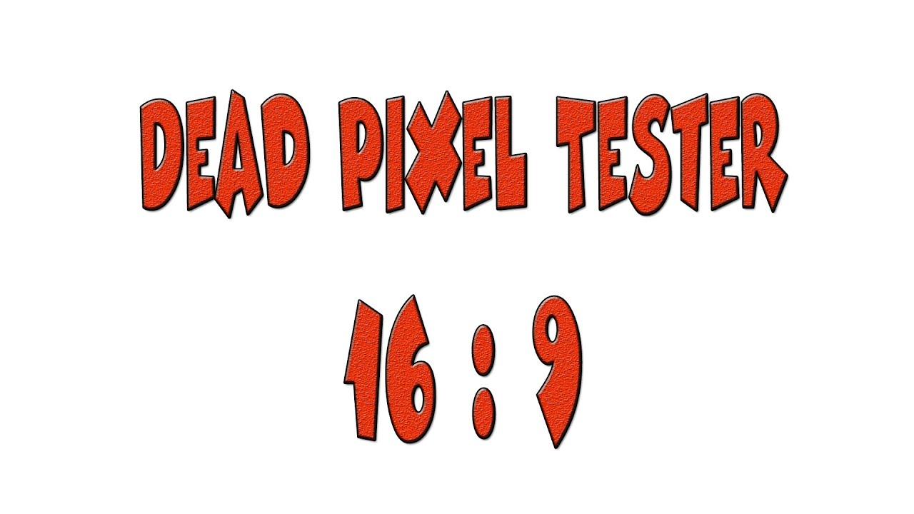 Download DPT169 - Dead Pixel Tester (16:9)