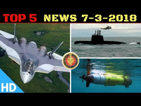 Indian Defence Updates : Russia Needs India for SU-57,DRDO Underwater Vehicle,US India 2+2 Meeting