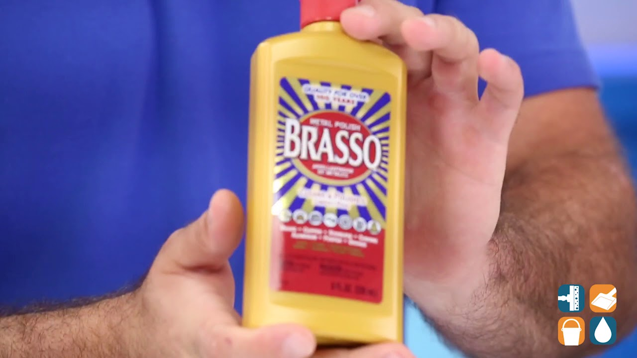 Brasso 23 Metal Surface Polish, 23-oz. Bottle