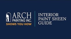 Interior Paint Sheen Guide - Arch Painting Shows You How