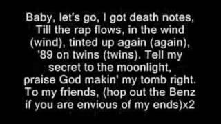 Bizzy Bone way 2 strong (lyrics)
