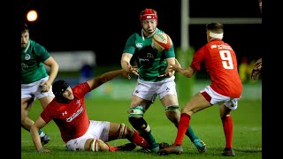 Irish Rugby TV: Ireland U20 v Wales U20 - Match Highlights - U20 Six Nations 2019