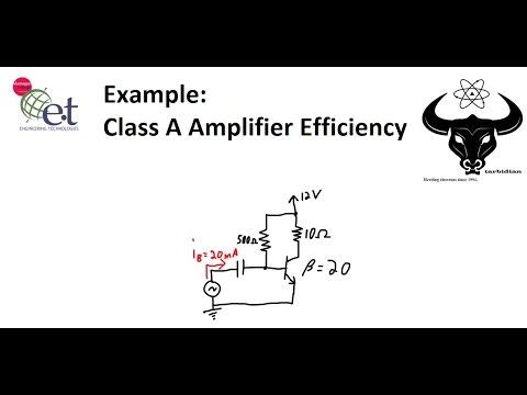 BJT Class A Amplifier Efficiency