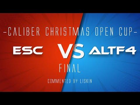 Финал. - Турнир Christmas Open Cup. - Игра Калибр.