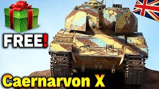 CZOŁG PREMIUM ZA DARMO - Caernarvon Action X - World of Tanks