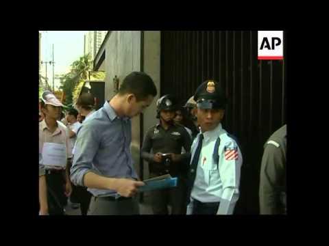 Anti-Myanmar govt protests at Singaporean embassies ahead of ASEAN