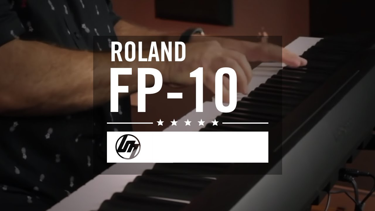 Roland FP-10 Digital Piano - All Playing, No Talking! | Better Music