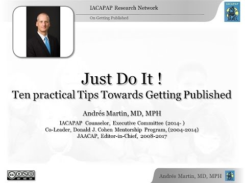 Ten practical tips towards getting published