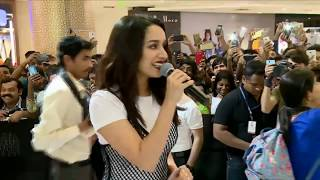 Download Mp3 Multi Talented Shraddha Kapoor Sings 'teri Galliyan' At Oppo F5 Youth La