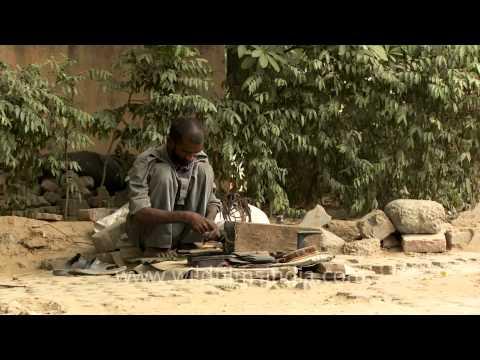 The life of a cobbler, New Delhi
