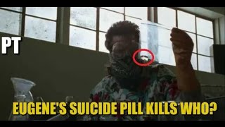 The Walking Dead Season 7 Episode 15 Eugene's Suicide Pill Kills Someone? TWD 715