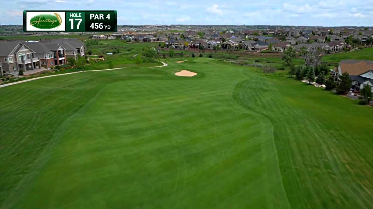 Scorecard & Hole By Hole Aerials at Heritage Eagle Bend Golf Club