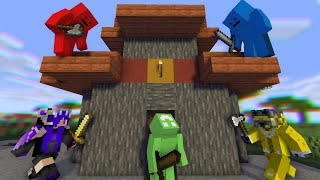 Minecraft Speedrunner VS 4 Hunters THE DECIDING REMATCH