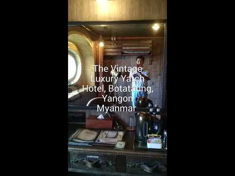 The Vintage Luxury Yatch Hotel, Yangon, Myanmar