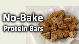 No-bake Protein Bars Recipe - Men's Answer