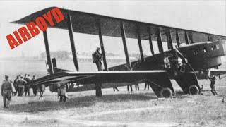 "Paris Le Bourget To London Croydon Airport - Air Union ""Artois"" Farman F.60 Goliath F-GEAC"