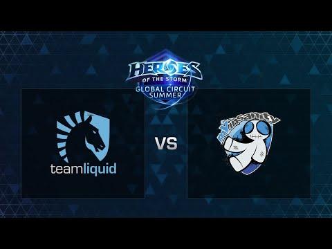 HOTS - Team Liquid vs mYinsanity - Game 1 - Semi-finals - Europe Summer Regional